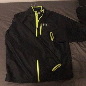 Under Armour running full-zip jacket windbreaker